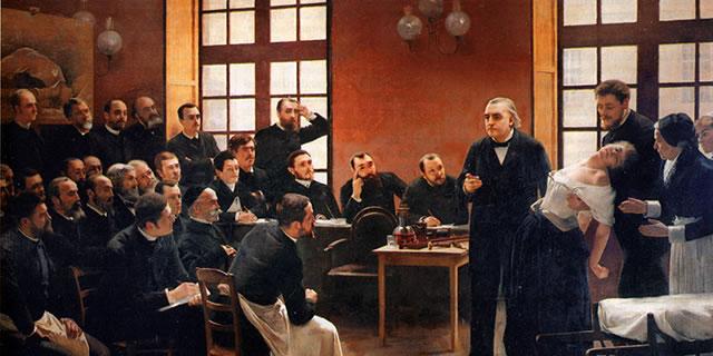 Hypnose classique : Charcot à la Sapétrière